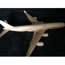 Airbus 340 Natural Mahogany